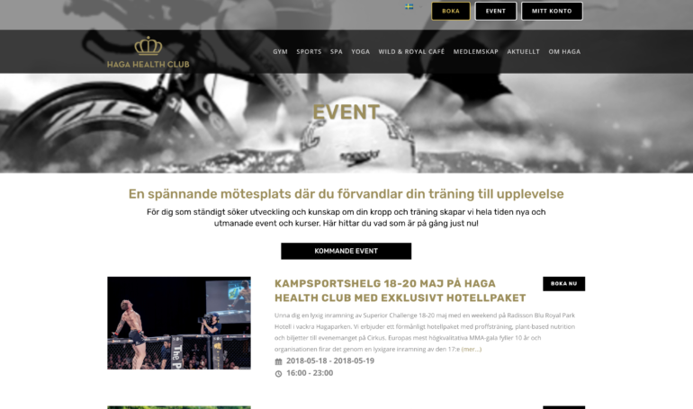 Haga Health Club